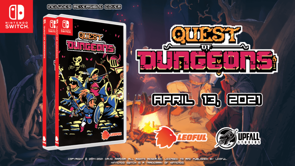 Quest of Dungeons Nintendo Switch Physical